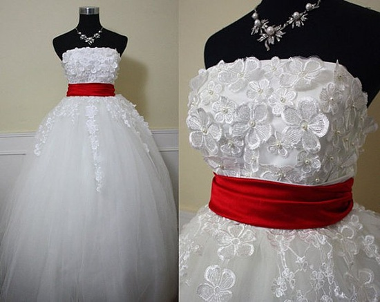 Give it a purple sash instead of red and cut it to knee or tea length.