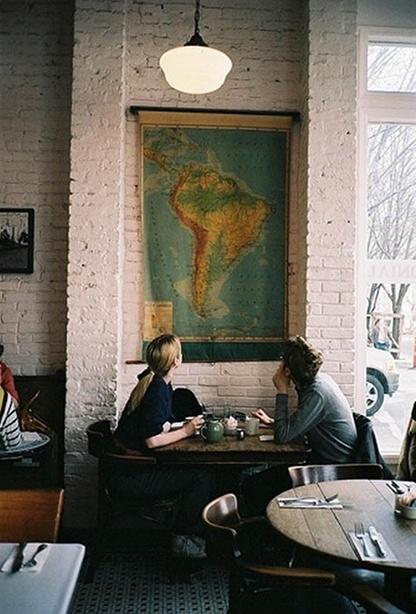 Maps make the best decor