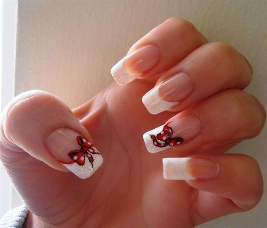 french nails by barbaras - Nail Art Gallery nailartgallery.na... by Nails Magazine www.nailsmag.com #nailart