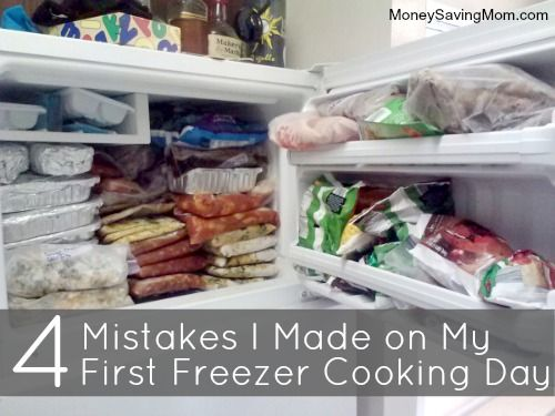 4 Mistakes That Could Cost You a Lot of Time When Freezer Cooking -- great read!