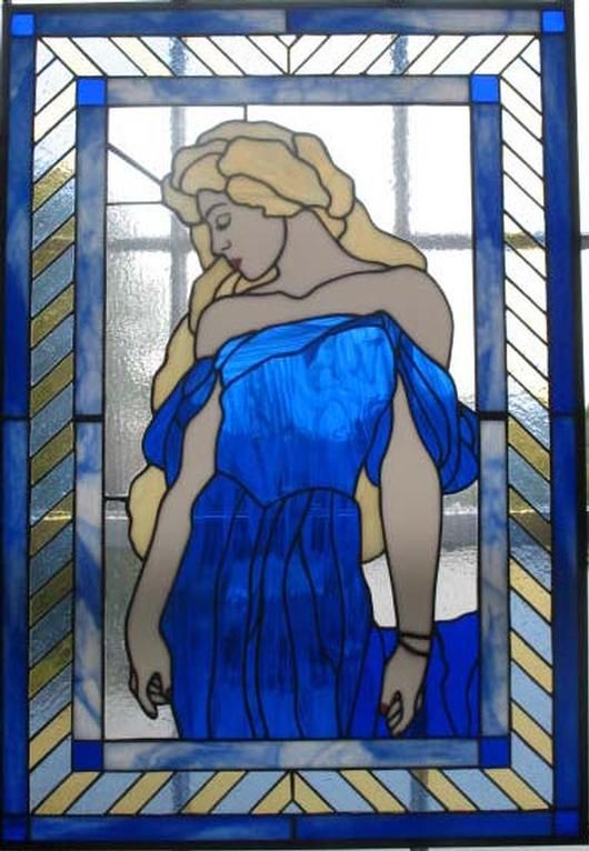 Blue Lady - by Mara