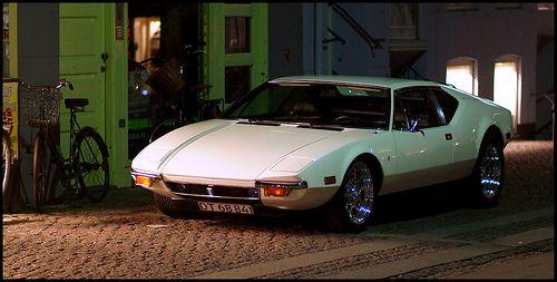 De Tomaso Pantera - white and funky.