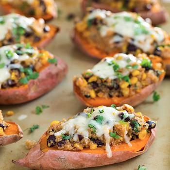 Honey-Lime Quinoa Stuffed Sweet Potatoes Recipe - Cooking Classy
