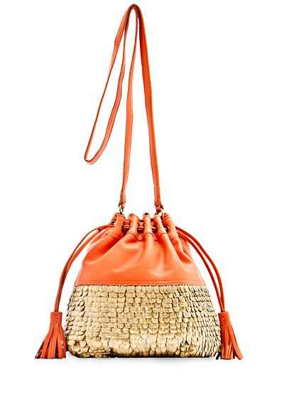 MANGO - BAGS - TOUCH - Studs hobo handbag