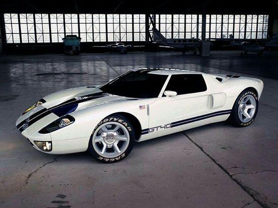 Sports Car Ford GT