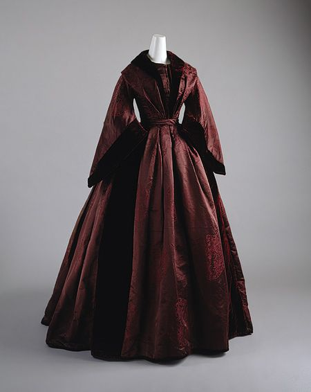 At home dress. 1850