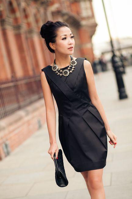 Little black dress..classy