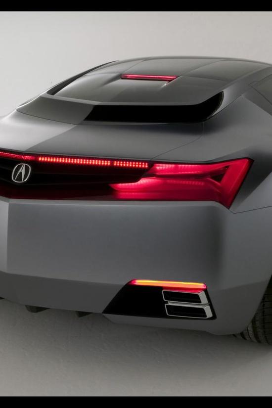 Acura, concept, car