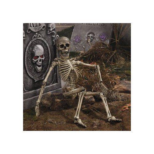 Halloween Posable Skeleton Outdoor Garden Decor