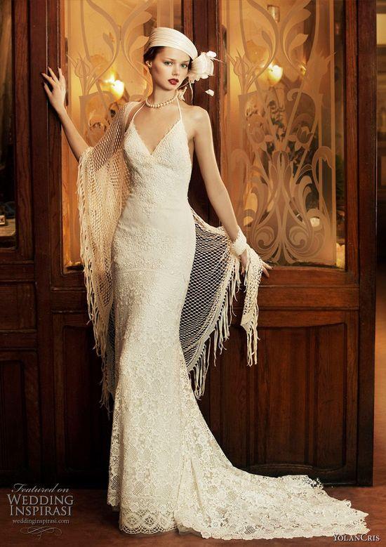 YolanCris Revival Vintage Wedding Gown