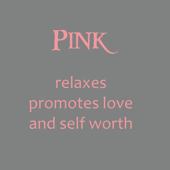 the meaning of the color pink #love #confindence