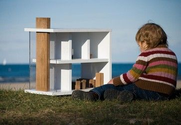 urban girl dollhouse modern kids toys