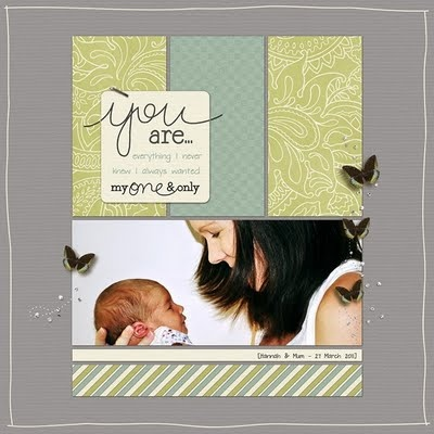 #Scrapbook #Layout by Jacinda