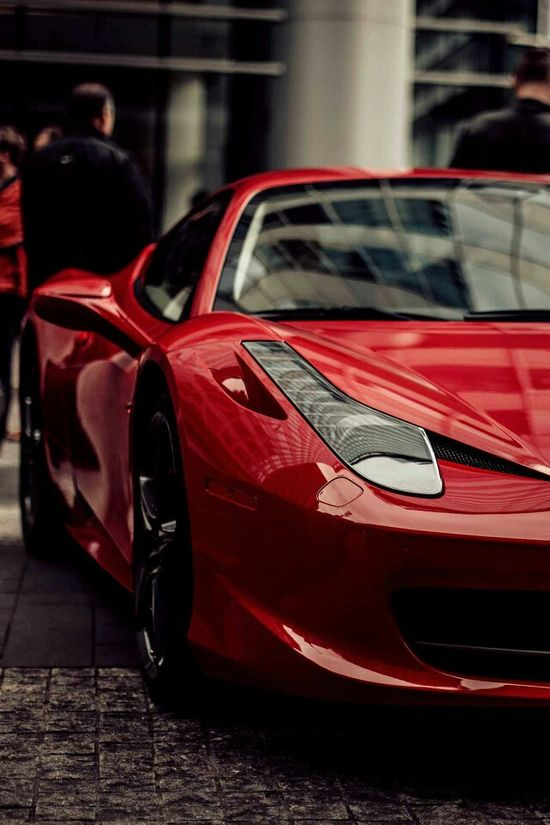 Hot Red Sports Car!!