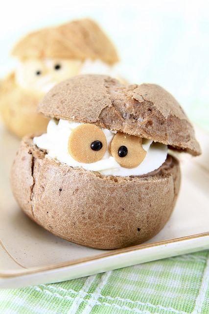 #cute #food #baking #cooking #dessert #chouxcreme #dessert #Halloween