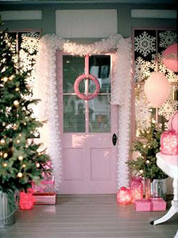 Pink holiday, so pretty!