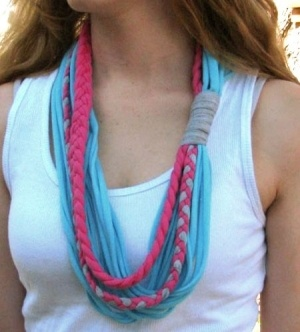 another t shirt scarf