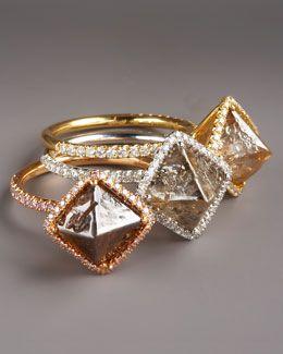 Diamond in the Rough Diamond Rings
