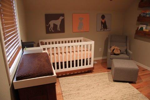 Dog themed nursery!