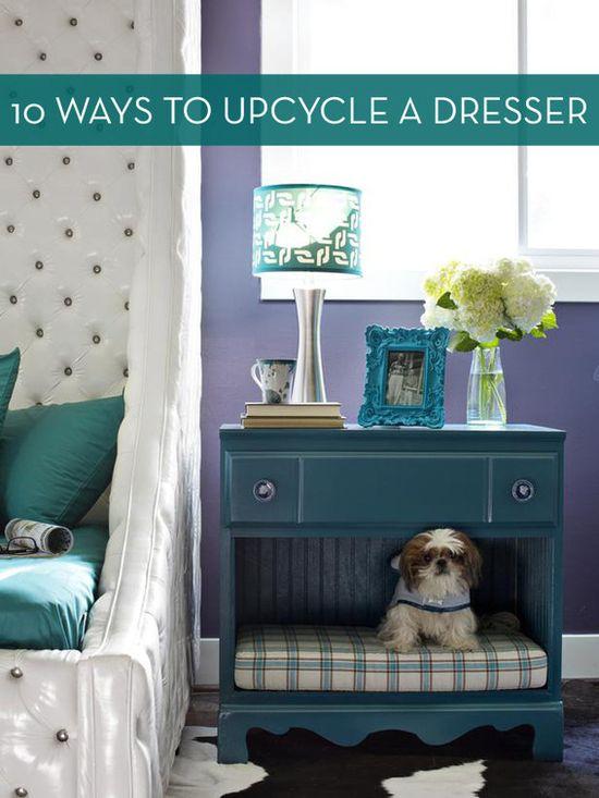 10 New Ways To Repurpose An Old Dresser