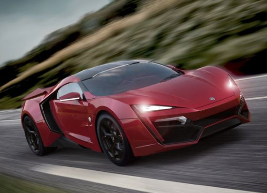 The $3.4 Million Lykan Hypersport Debuts At Dubai Motor Show