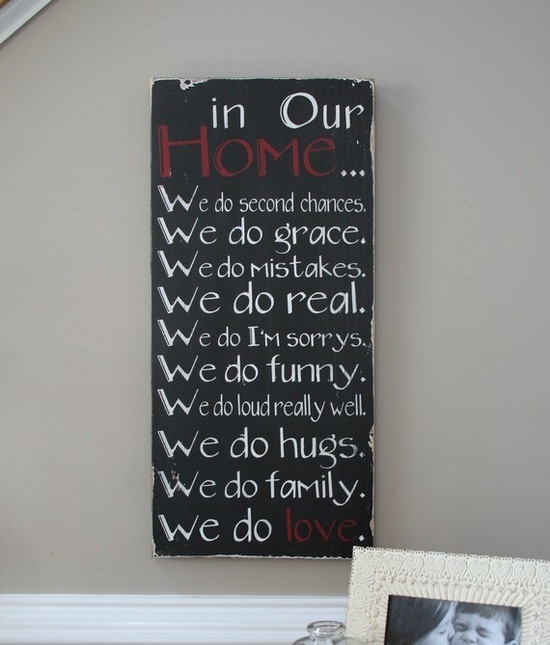 Love the sayings....
