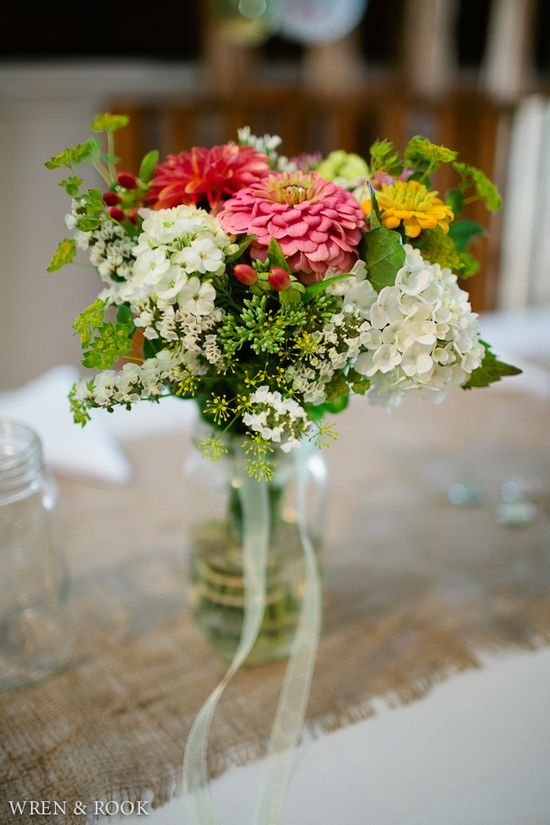 rustic-wedding-decor- by wrenandrook photography - image 1