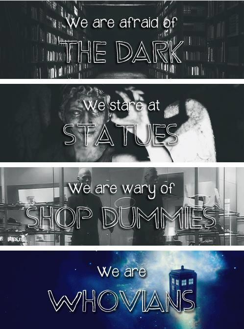 We are Whovians.