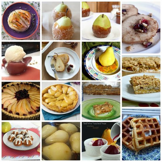 15 Pear Dessert Recipes!