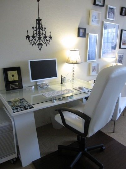 Stylish Home Office Inspiration (item list...)
