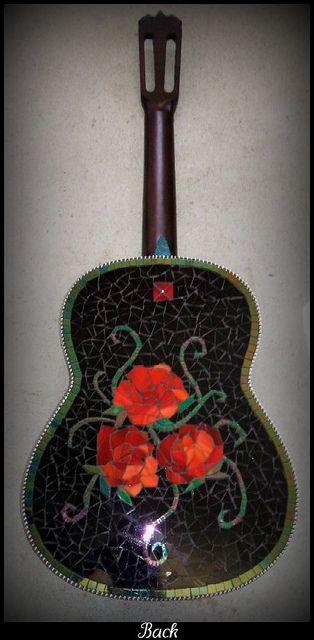 rose  guitar - gorgeous