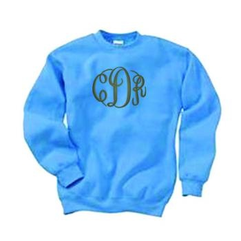 Monogram sweatshirt..best thing ever!