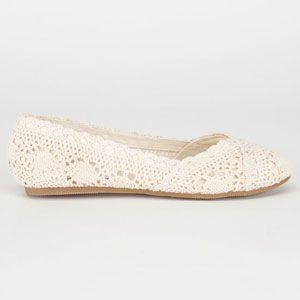 SODA Crochet Girls Shoes