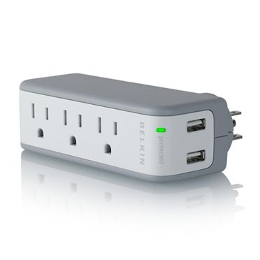 Mini Surge Protector with USB Charger - HeroImage
