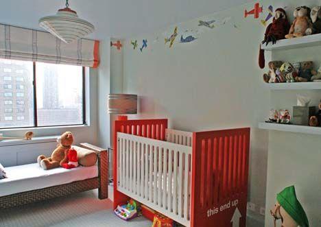 Baby nursery children room design