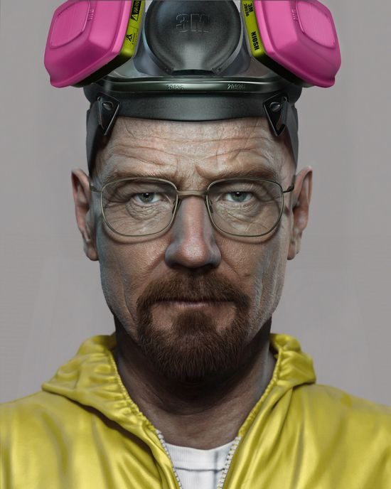 Artist of the Day:  Frank Tzeng is currently working at Sony Computer Entertainment here in San Diego as a 3D Character modeler. This particular character modeled after Walter White from Breaking Bad was created by him entirely in ZBrush. To see more of his life like CG creations check out his portfolio here:   franktzeng.wix.co...