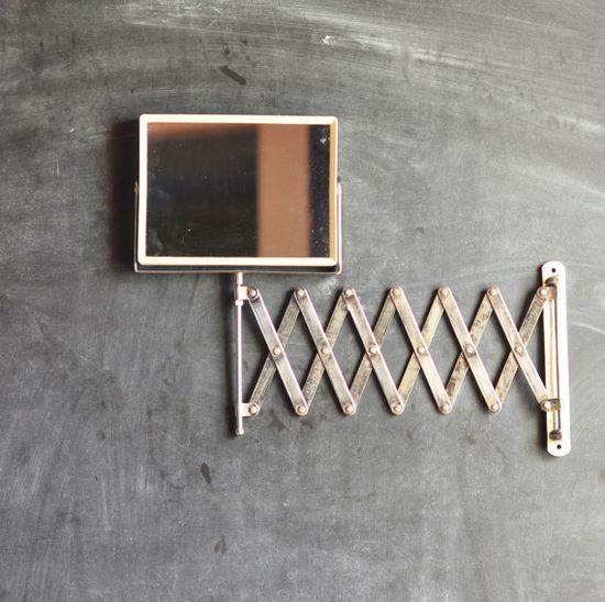 // vintage shaving mirror