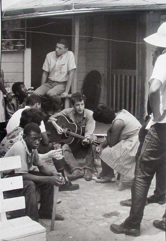 Dylan - July '63 by Danny Lyon