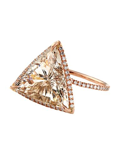 #MoniquePean Champagne Diamond Ring at #Barneys news.instyle.com/...
