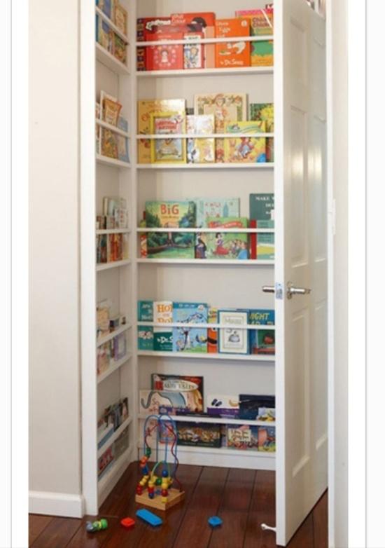 behind the door book nook