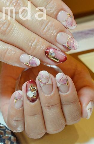 #nail #nails #nailart. Via Mary Thailand sent by ameboid.jp