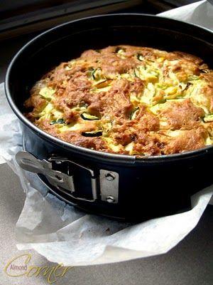 Patty Pan Squash Cake Recipe