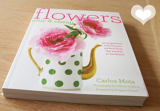 flowers  arranging book