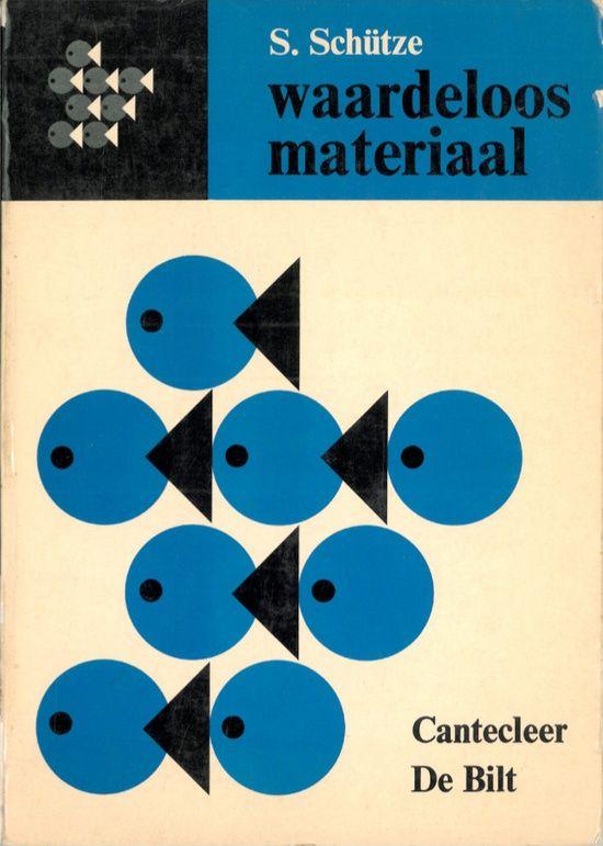 Vintage book cover  via