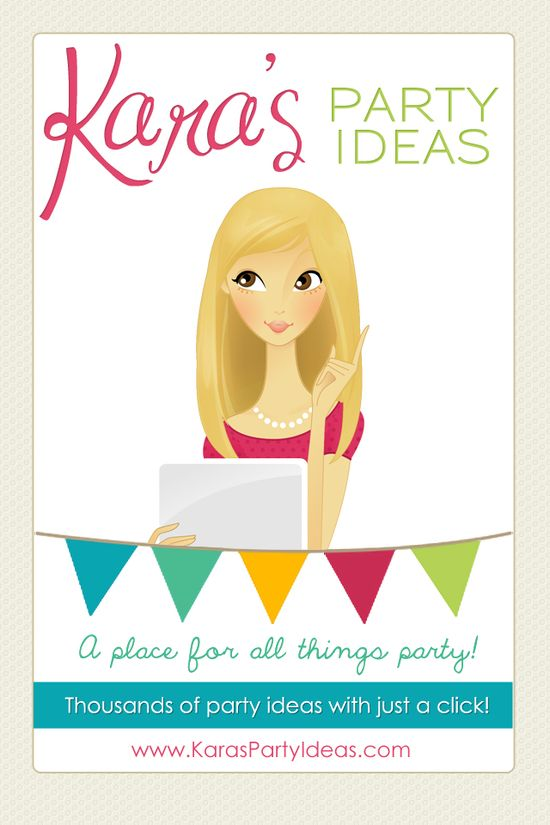 {Kara's Party Ideas} THE place for all things PARTY! A website FULL of party ideas! Search & browse through thousands of parties, watch party idea shows, purchase all the party supplies you need in one place {party supply shop}, and even download the party idea App! You will plan the best party in no time! {www.KarasPartyIdeas.com} Follow On Pinterest: www.pinterest.com... #party #ideas