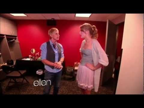 Hilarious moments with Taylor Swift on Ellen!