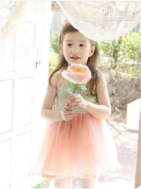 Wholesale Children Clothes - Buy Girls Princess Dress Lovely One-piece Children Fashion Costume Kids Popular Clothes Summer Garment 2 Color Hgggmy, $8.48