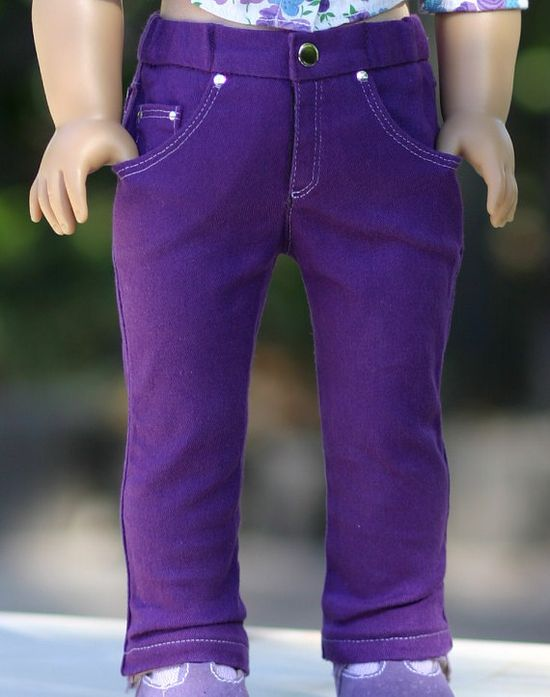 American Girl Doll ClothesFive Pocket by DollClosetHeirlooms, $22.00