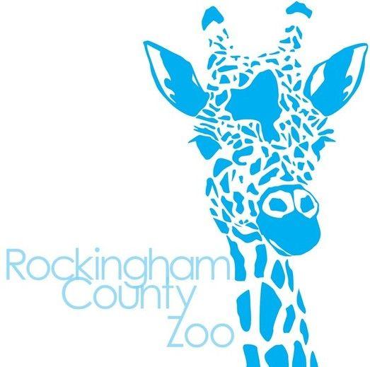 #Rockingham County #Zoo #logo #graphics #design