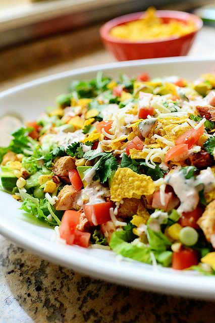 Chicken Taco Salad, simple, but good, or......simply good!